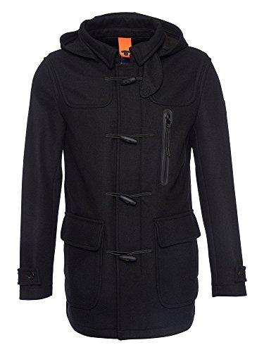Tom tailor messieurs duffle-coat noir xxl