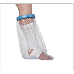 Wasserdichte Adult Sealed Cast Bandage Protector Wunde Fraktur Fuß Bein Knie Abdeckung für Dusche