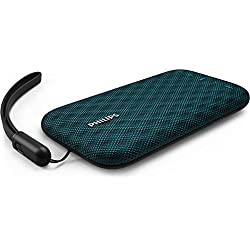 Philips Everplay BT3900A Enceinte Bluetooth Waterproof, Antichoc, avec Dragonne USB, Micro, Compacte, Bleu