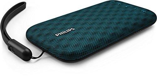 Philips BT3900A EverPlay Bluetooth Lautsprecher (30 M Verbindung, Schnellladeoption, 8 Stunde Akku, 4 W) blau (Philips Lautsprecher)
