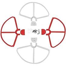 Hélices Extraíbles Prop Topes Protectores de Guardia para Phantom 3 Blanco Rojo