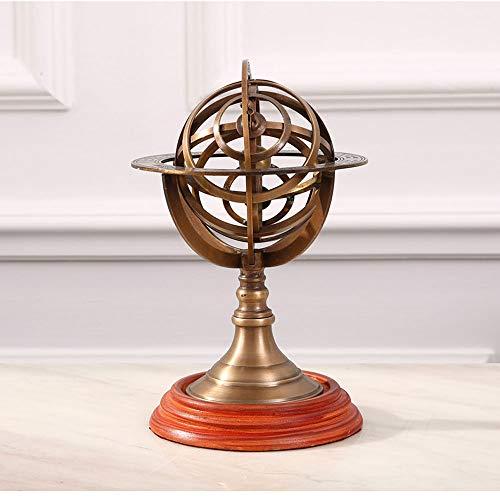 ome Furnishing Schmuck Ornamente Bronze Globus Studie Bücherregal Armillary Ornamente ()