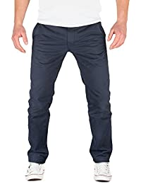 Grin&Bear fitted Baumwoll Chino Herrenhose Jeans Hose OS20