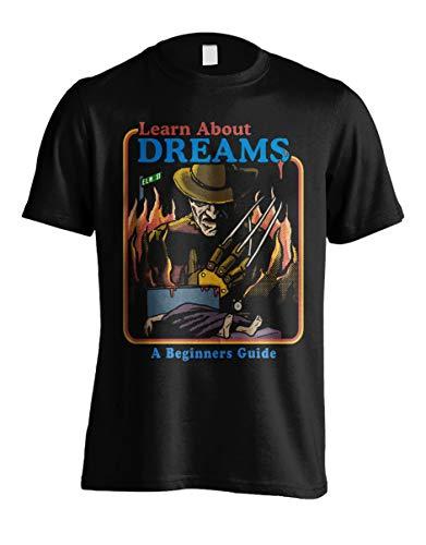 Freddy Krueger Learn About Dreams T-shirt, Unisex