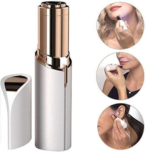 Sensualmax Upper Lip, Chin, Eyebrow Trimmer Shaver Painless Face Hair Remover Machine for Women