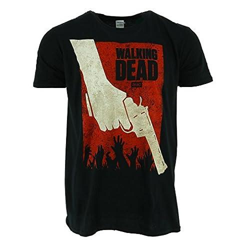 The Walking Dead Revolver T-shirt noir Official Autorisé TV