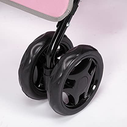Guardian Gear Promenade Pet Stroller, Pink 6