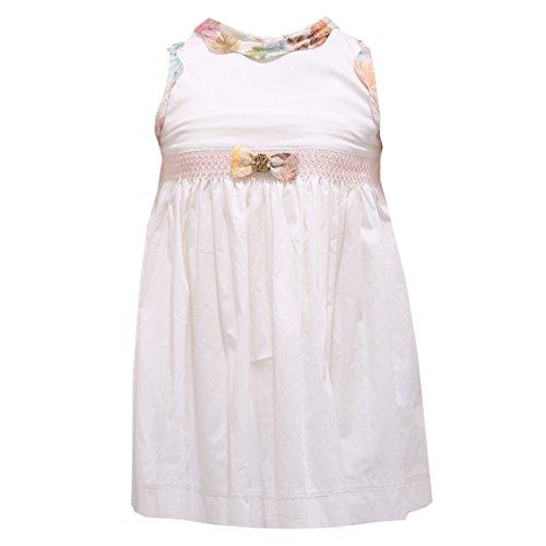 8606r vestito bimba roberto cavalli abito bianco multicolor dress kid [3 months]