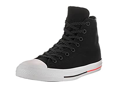 Converse Sneaker All Star Hi Canvas, Sneakers Unisex Adulto, Nero (Black Monochrome), 42.5 EU
