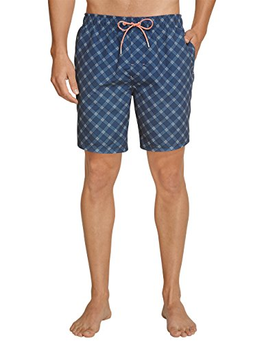 Schiesser Aqua Swimshorts, Short Homme Bleu foncé (803)