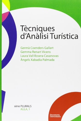 Tècniques d'anàlisi turística (Plurals)