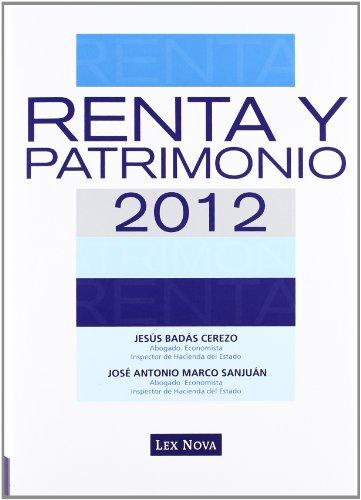 RENTA Y PATRIMONIO 2012 (Monografía)