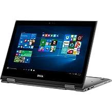 "Newes Dell Inspiron 5000 2-in-1 13.3"" Full HD Touchscreen Flagship High Performance Laptop PC | Intel Core I7-6500U | 8GB RAM | 500GB SSD | Backlit Keyboard | Media Drive | Windows 10"