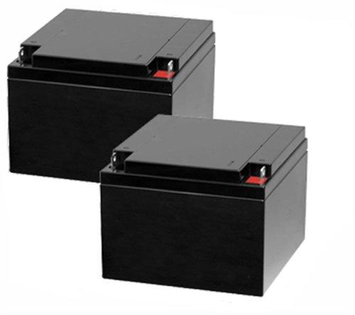 Amigo Mobility ESCORT Mobility Wheelchair replacement Battery pack (Scooter Amigo Batterien)