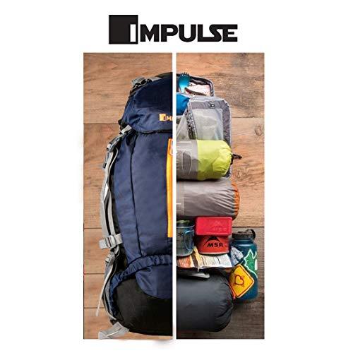 Impulse Inverse 65 Ltrs Blue Rucksack Image 6
