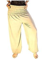 Damen Pumphose / Haremshose / Yoga Pant Stretch Pump Sport Aladin Hose