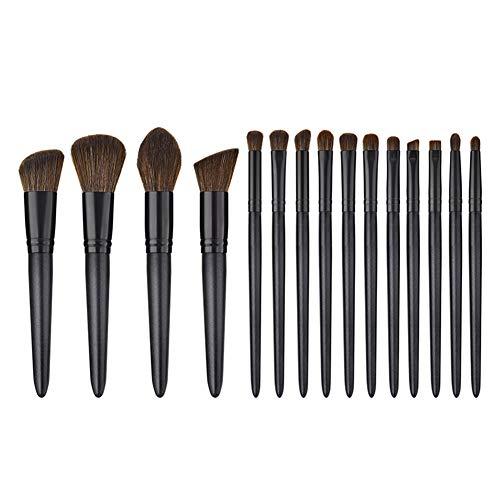 Lot de 15 Set Outils Pinceaux Maquillage Pinceaux pour le Yeux Ombre à Paupières Sourcils Shader Concealer Cosmetics Brush