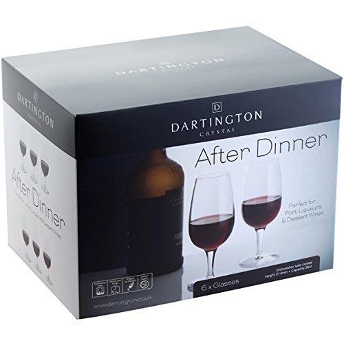 Dartington Crystal Portweingläser, 6 Stück