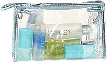 LHWY Bolsas de Maquillaje Transparente Impermeable Almacenamiento Portátil