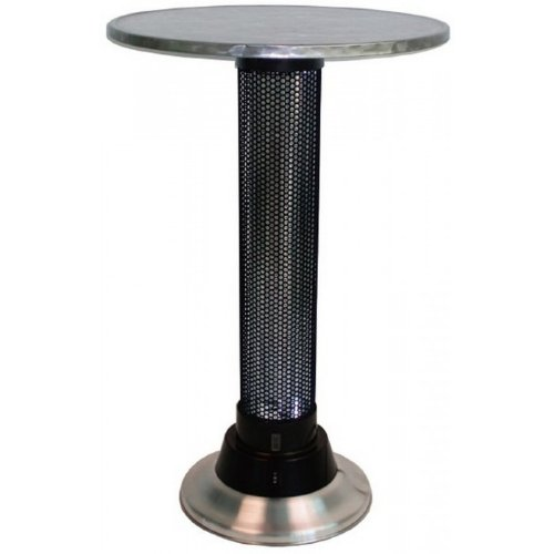 Table chauffante Roundy Couleur Inox Matière Inox