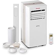 Inventor Epic 9.000 Btu/h Climatiseur Portable 2-en-1 Refroidissement & Capacité de Déshumidification