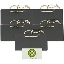 Bcony 5* mini colgando Pizarra Madera de tablero de mensajes decoración