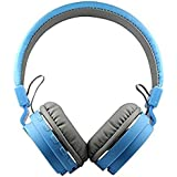 CyberByte SH-YX-12 Bluetooth Headphones With FM And SD Card Slot. Can Be Used With All Android Smartphones And Tablets. (Compatible With Samsung, Apple, Oppo, Vivo, Xiaomi, Htc, Lenevo, Asus, Techno, Micromax And All Other Bluetooth Smartphones) (Blue)