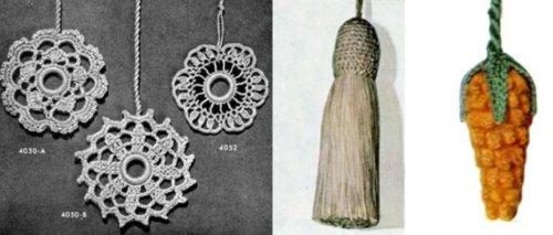 Tira de cortina: patrones de Crochet para tira de cortina por Unknown