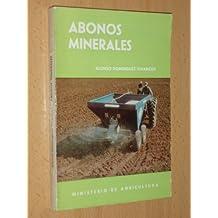 ABONOS MINERALES (Madrid 1967)
