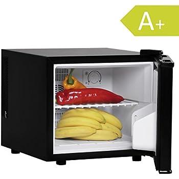 FineBuy Mini Kühlschrank 17 Liter/Minibar schwarz ...