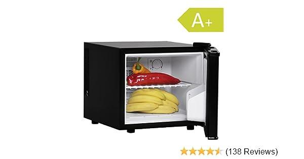 Kleiner Kühlschrank Ohne Gefrierfach Mit Glastür : Amstyle minikühlschrank liter minibar schwarz freistehender