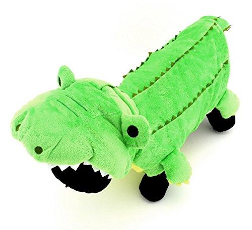 ranphy klein Hund Cosplay Kleidung Warm Fleece Krokodil Halloween-Kostüm Puppy Kleidung Grün (Grün Flapper Kostüme)