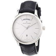 Maurice Lacroix LC1007-SS001-130 - Reloj de pulsera hombre, piel, color negro