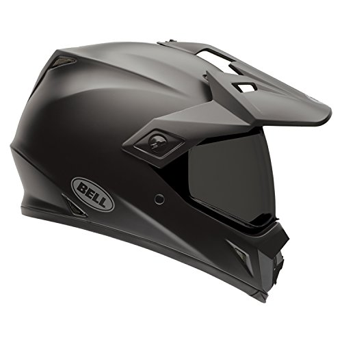 Bell Helmets MX 2015 MX-9 Hi-Visibility Adventure Casco Adulto, color Negro Solido Mate , talla M