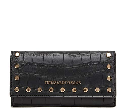 PORTAFOGLIO DONNA acacia cocco printed wallet BLAC...