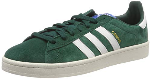 adidas Campus, Scarpe Stringate Derby Uomo, Multicolore (Green  Cgreen/Clowhi/Cwhite), 42 EU