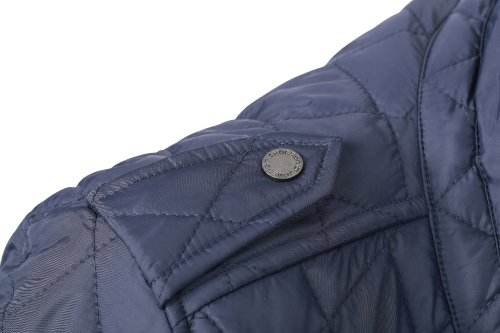 J&N - Modische Herren Business & Freizeit-Jacke mit Diamant-Steppung (JN1072) Marine