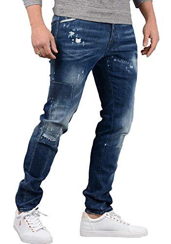"Dsquared2- Hommes S74LB0323 Cool Guy Jean en Jean Bleu - Bleu, 44 - (28"" Waist, 32"" Leg)"