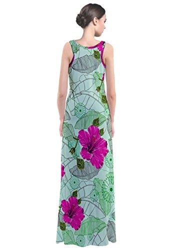 CowCow - Robe - Femme Green Hawaii Stripe Green Hawaii