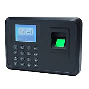 Cpixen Biometric Fingerprint Password Attendance Machine Employee Checking-In Recorder