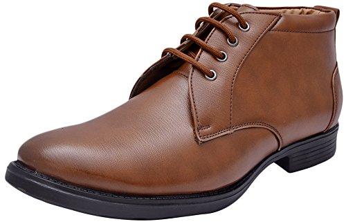 John Karsun Men's Tan Leather Boots - 9 UK