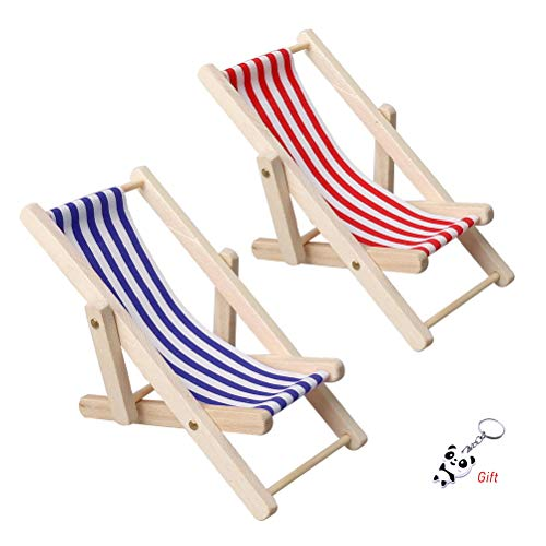 pengxiaomei 2 pcs Mini Beach Cha...