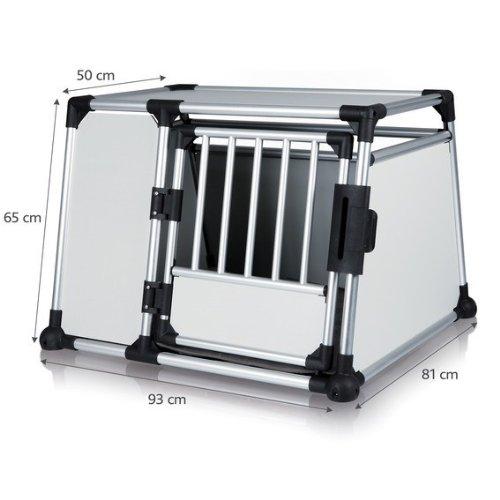 Alu-Hundetransportbox - Einzelbox Favorite - Größe 4