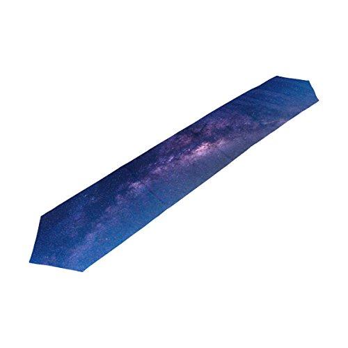 alaza Galaxy Nebula Etoiles Univers de Table 13 x 70 Pouces Table Polyester Haut Décoration Home Décor