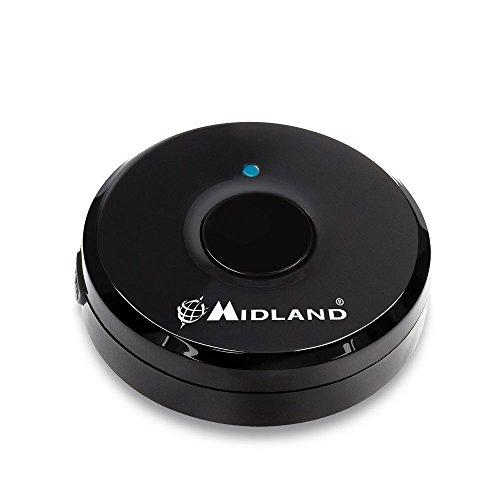 Midland C1200 Bluetooth-Adapter, schwarz Ptt Bluetooth