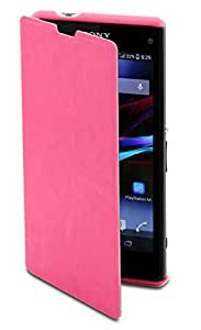 Muvit Etui pour Sony Xperia Z1 Compact Rose