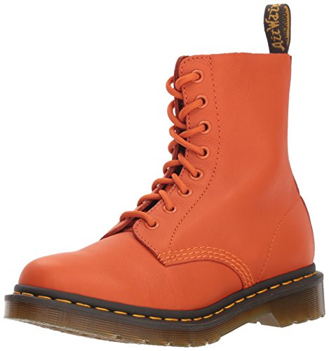 Dr. Martens Damen 1460 Pascal Kurzschaft Stiefel, (Burnt Orange 806), 37 EU