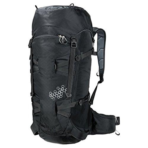 Jack Wolfskin Wintersport Tagesrucksack/Daypack White Rock 40 Pack Black