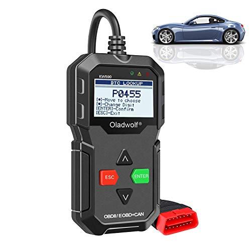 Oladwolf OBD2 Diagnosegerät, Auto ELM327 Obd Stecker, Universal USB Kabel Fehler-Code KFZ Auslesegerät Diagnose Scanner für alle OBD II/ EOBD Protokoll Auto Fahrzeuge