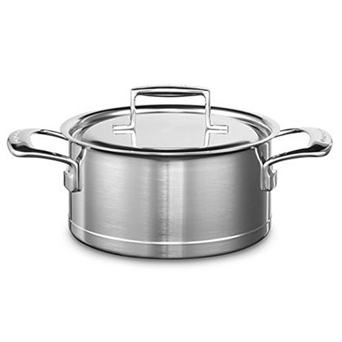 KitchenAid KCC730CSST Cooking Pot Stainless Steel 20 x 20 x 10 cm Silver